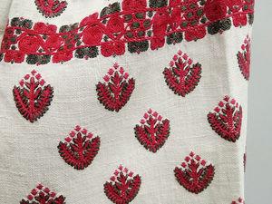 Старинная вышивка. Ярмарка Мастеров - ручная работа, handmade.