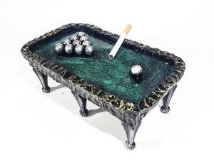 Подарок для мужчины Пепельница Бильярдный стол. Ярмарка Мастеров - ручная работа, handmade.