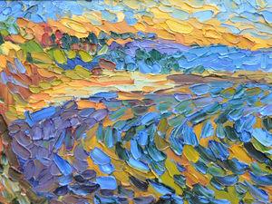 120х60 Набережная. Морской берег | Ярмарка Мастеров - ручная работа, handmade