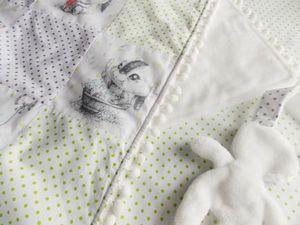 """Акция-аукцион на детское одеяло """"Мамины объятия"""". Ярмарка Мастеров - ручная работа, handmade."""