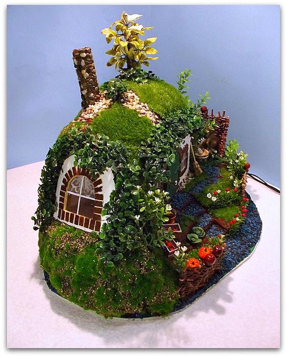 дом миниатюрный