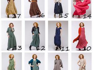 Все модели бохо платьев на одной картинке. Ярмарка Мастеров - ручная работа, handmade.
