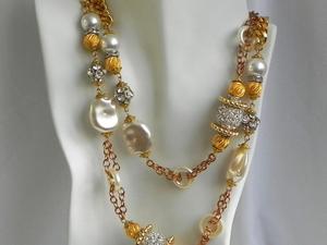 Видео. Ожерелье, Larry Vrba, Ларри Врба, США. Ярмарка Мастеров - ручная работа, handmade.