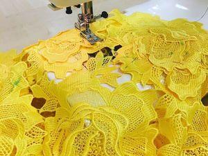Как подготовить кружевное платье на подкладе к примерке?. Ярмарка Мастеров - ручная работа, handmade.