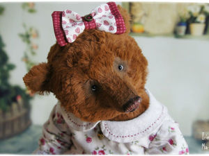 Медведица Глаша. | Ярмарка Мастеров - ручная работа, handmade