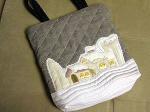 Аукцион на сумку в стиле японский пэчворк