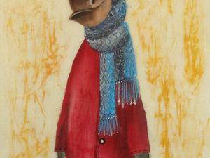 Кто..кто...Конь в пальто. Ярмарка Мастеров - ручная работа, handmade.