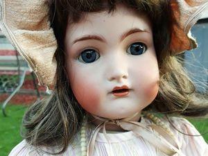 Антикварная кукла в подарок. Ярмарка Мастеров - ручная работа, handmade.