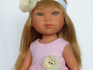 Базовая выкройка платья для куклы Карлотты от Vestida de Azul. Ярмарка Мастеров - ручная работа, handmade.