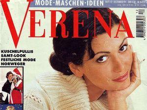 Verena № 12/1994. Содержание. Ярмарка Мастеров - ручная работа, handmade.