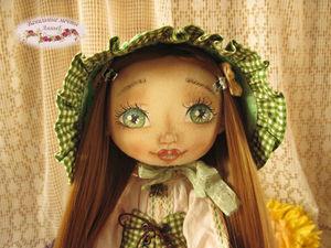 Кукла. Текстильная кукла. Юна. Ярмарка Мастеров - ручная работа, handmade.