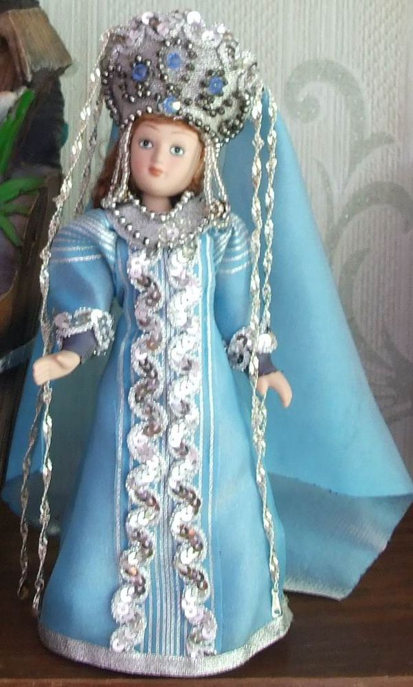 фарфоровая кукла, интерьерная кукла, морской костюм