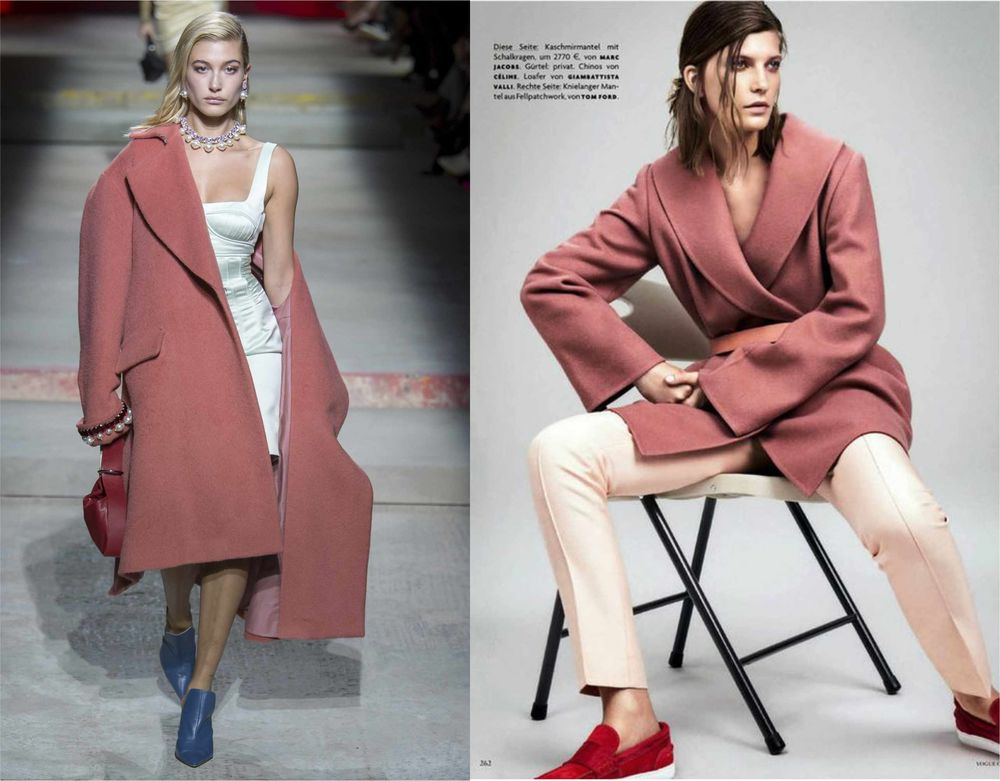стиль, стильные пальто