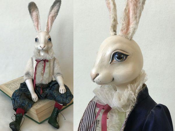 Удивительное путешествие кролика Эдварда   Ярмарка Мастеров - ручная работа, handmade