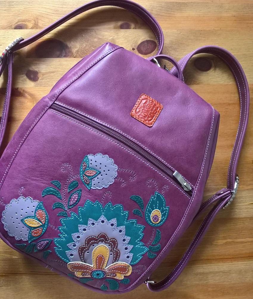 рюкзак, рюкзачки женские, кожаный рюкзак женский, городской рюкзак, готовая работа