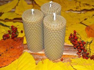 Дарим свечи к каждому заказу с 10 по 20 октября!. Ярмарка Мастеров - ручная работа, handmade.