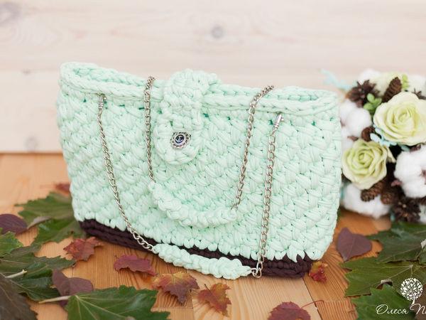 Новая сумочка Морской прибой | Ярмарка Мастеров - ручная работа, handmade