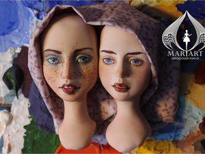 Новые куклы в процессе из запекаемого пластика   Ярмарка Мастеров - ручная работа, handmade
