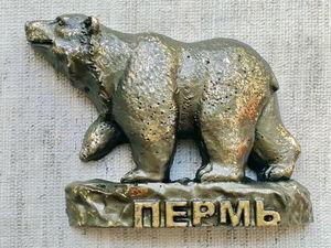 Легенда о Пермском медведе. Ярмарка Мастеров - ручная работа, handmade.