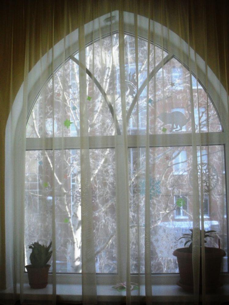 окно, декорирование хенд мейд