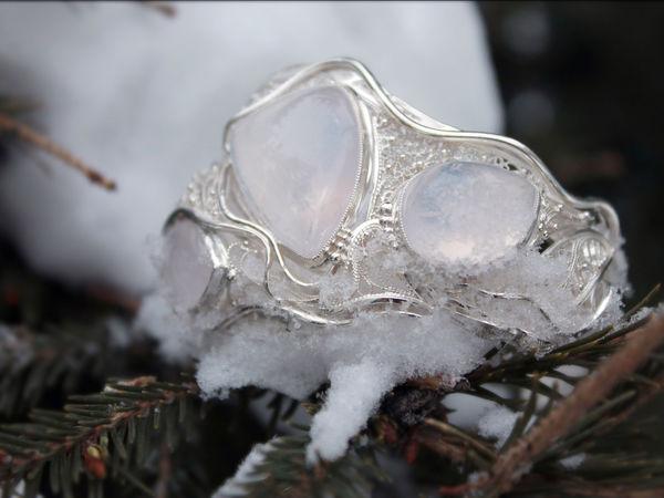 Создание филигранного серебряного браслета «Три имени зимы». Часть третья, заключительная | Ярмарка Мастеров - ручная работа, handmade