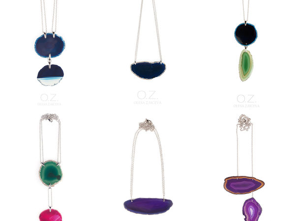 Новая бомбическая коллекция со срезами агатов ! | Ярмарка Мастеров - ручная работа, handmade