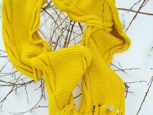 Шикарный солнечный шарф!. Ярмарка Мастеров - ручная работа, handmade.