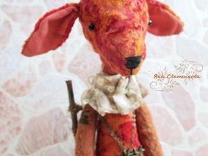 Новая работа в моем магазине - Тедди Жирафик Молли.. Ярмарка Мастеров - ручная работа, handmade.