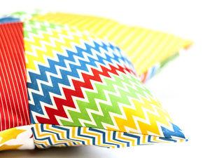Шьем яркую подушку-звездочку быстро и легко. Ярмарка Мастеров - ручная работа, handmade.