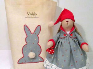 Шьем подарочный мешочек для текстильной игрушки. Ярмарка Мастеров - ручная работа, handmade.