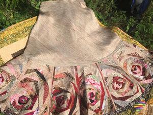 Как сшить лоскутную юбку из дикого шелка. Часть 4. Ярмарка Мастеров - ручная работа, handmade.