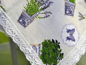 Новый ткани! Льняные скатерти по Вашим размерам. Ярмарка Мастеров - ручная работа, handmade.