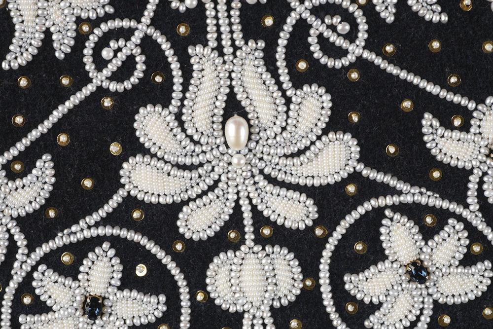 Узоры для вышивки жемчугом и бисером схемы 89