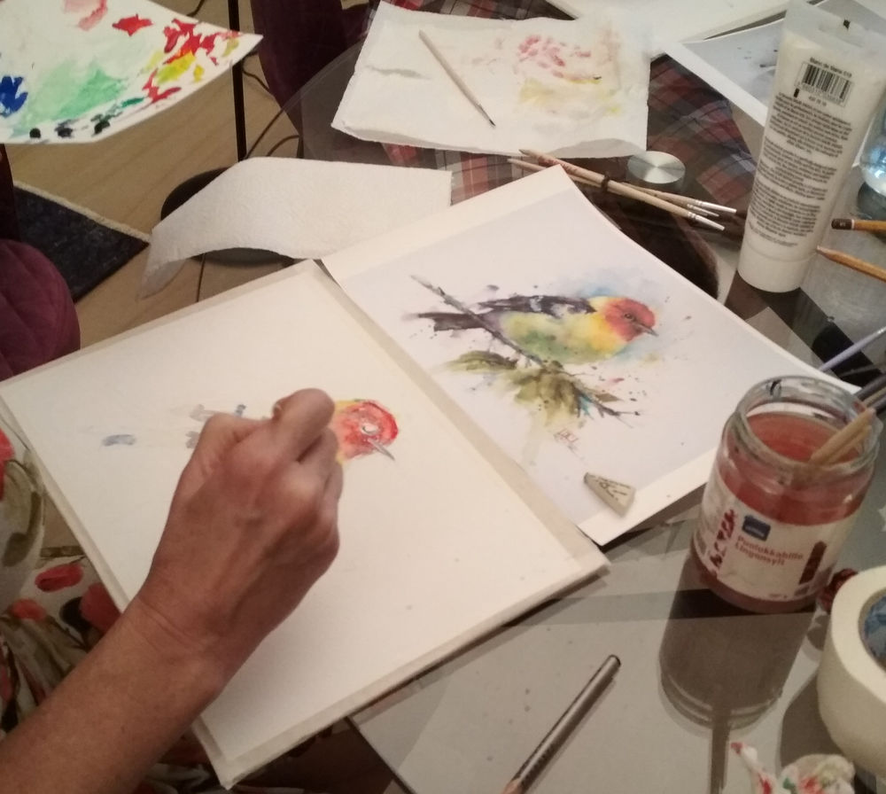 уроки живописи, живопись взрослым