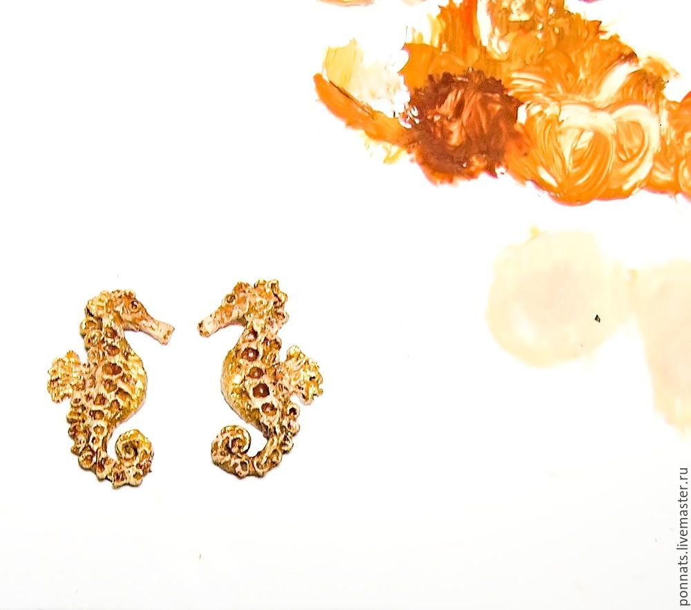 Modeling Textile Earrings with Embroidery, фото № 9