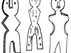 Древние боги Сибири | Ярмарка Мастеров - ручная работа, handmade