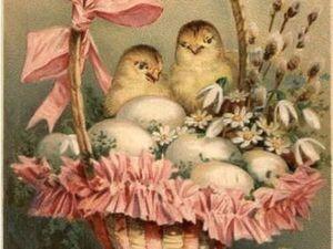 Светлый праздник Пасха потихоньку наступает!. Ярмарка Мастеров - ручная работа, handmade.