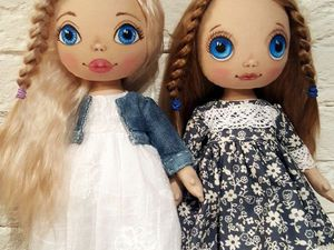 Мастер-класс: создаем трессы для куклы из шкурки козочки. Ярмарка Мастеров - ручная работа, handmade.