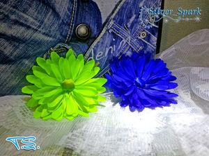 Видео мастер-класс :цветок из атласной ленты. Ярмарка Мастеров - ручная работа, handmade.