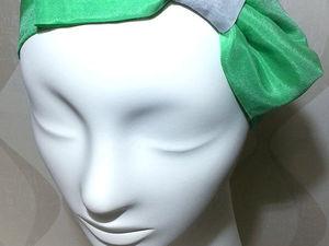 Ловите лето с новинками от Molniya! Повязки на голову в стиле Pin up!. Ярмарка Мастеров - ручная работа, handmade.