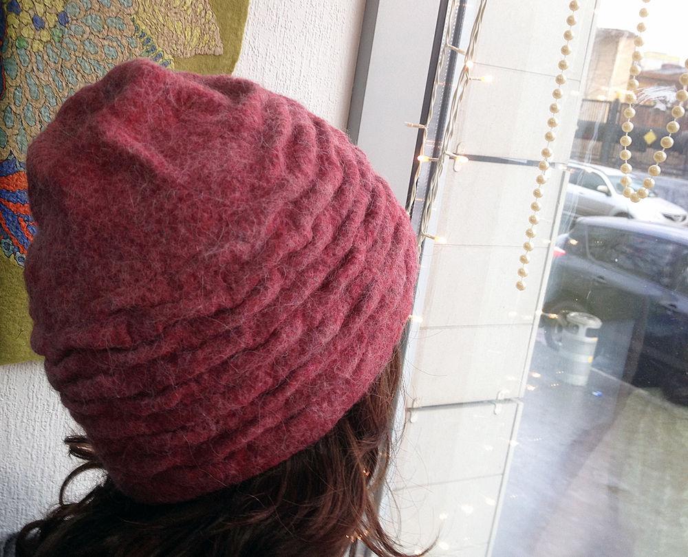 валяние, мастер-класс по валянию, шапочка, валяная шапка, шапка шаблон