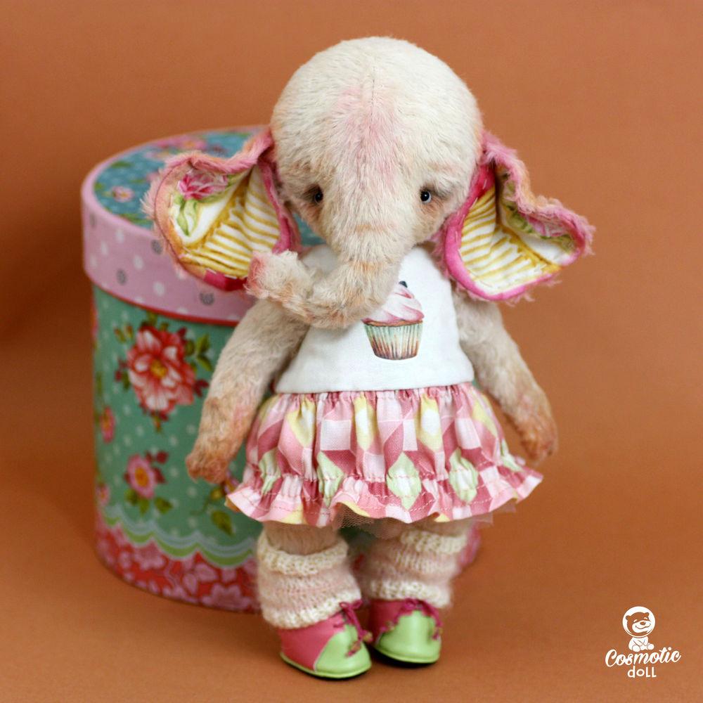 тедди слоник в одежде, подарок любимой