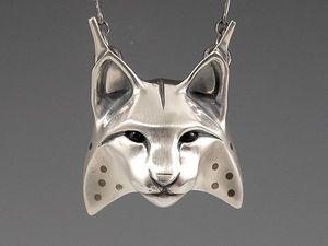Интересные серебряные тотемы от Brooke Stone. Ярмарка Мастеров - ручная работа, handmade.