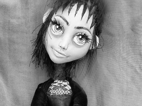 Подробный мастер-класс по созданию мистической куколки из трикотажа. Часть 2 | Ярмарка Мастеров - ручная работа, handmade