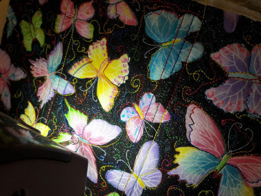текстильный кошелек, арт дизайн