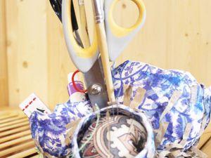 Все под рукой: мастерим вместительный органайзер для хранения творческих принадлежностей. Ярмарка Мастеров - ручная работа, handmade.