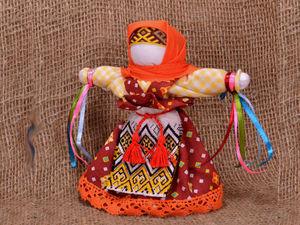 Народная кукла Домашняя Масленица. Ярмарка Мастеров - ручная работа, handmade.