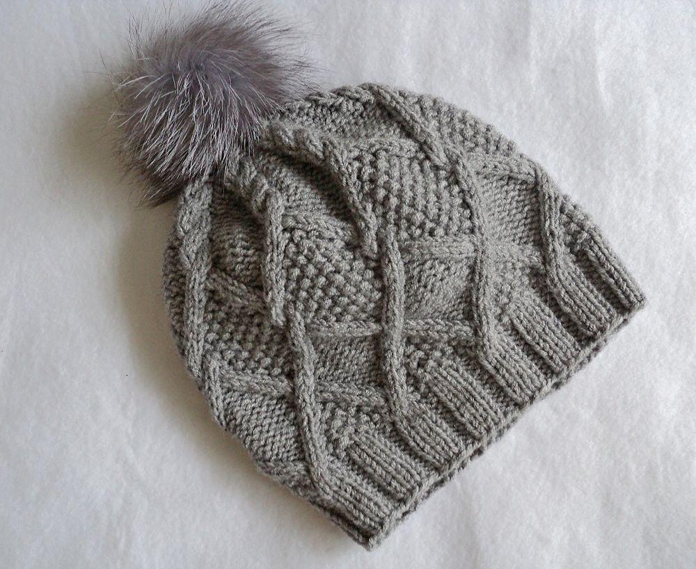 шапка с аранами