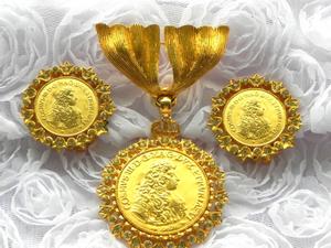 Видео. Набор Тосканская монета, Nettie Rosenstein, США. Ярмарка Мастеров - ручная работа, handmade.