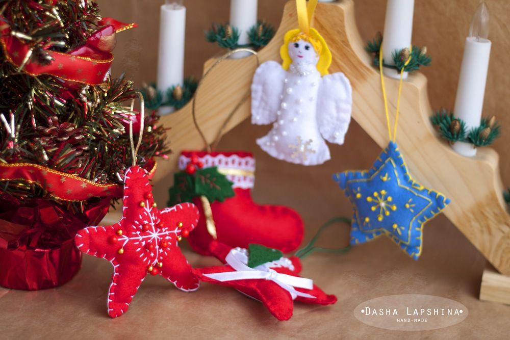акция, новогодняя акция, подарки покупателям, фетровые игрушки